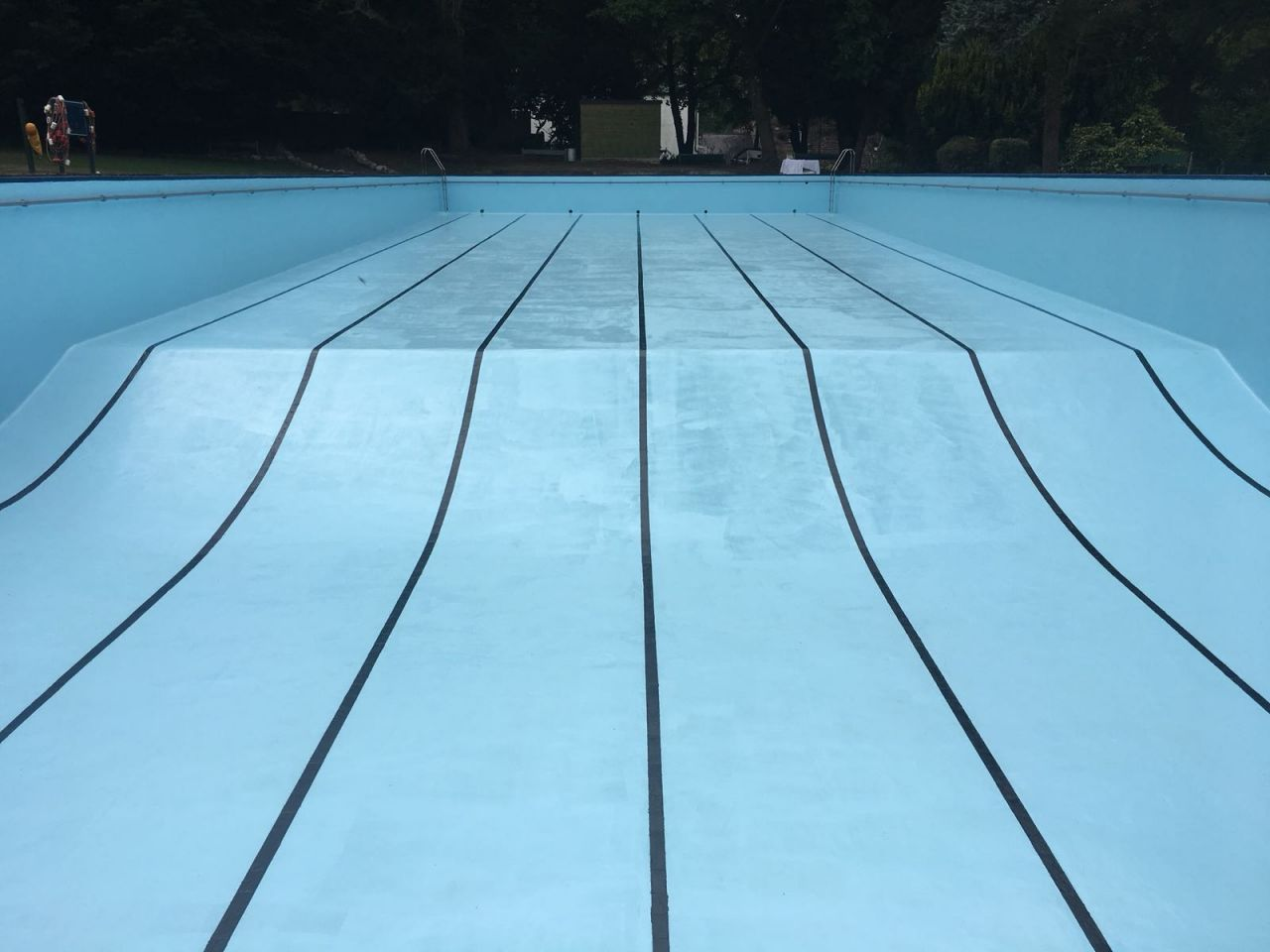 Chlorinated rubber pool paint at the new bath hotel and spa - Matlock hotels with swimming pools ...