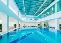 indoor swimming pool, water based swimming pool paint off the shelf
